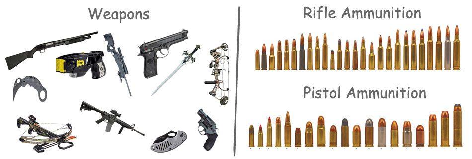 Guns-Weapons-Ammo